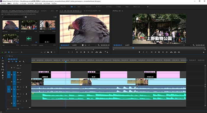 動画編集ソフトAdobe Premiere Pro CC for Windows