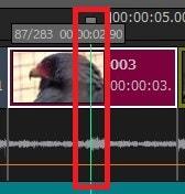 動画編集ソフトTMPGEnc Video Mastering Works 6 タイムラインにキーポイントを打つ方法