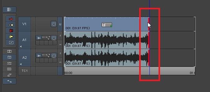 タイムラインの動画を短く編集する方法 動画編集ソフトAvid Media Composer