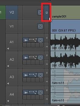 テキストテロップを表示させる方法 動画編集ソフトAvid Media Composer