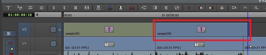 テキストテロップをコピー&ペーストする方法 動画編集ソフトAvid Media Composer