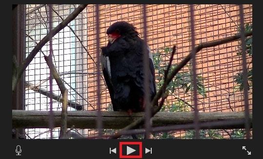 タイムライン内の動画を再生する方法 動画編集ソフトiMovie'13(ver10)