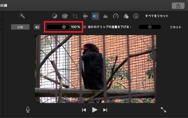 BGM音楽・動画の音量を調整する方法 動画編集ソフトiMovie'13(ver10)