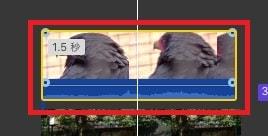 動画を動画の上に移動 設定画面フィルタボタン  動画編集ソフトiMovie'13(ver10)