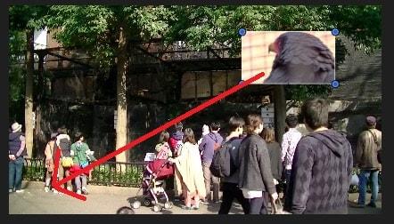 ピクチャ・イン・ピクチャを移動させる方法 設定画面フィルタボタン  動画編集ソフトiMovie'13(ver10)