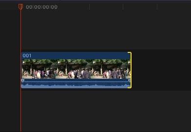 動画を短くする方法 解説動画編集ソフトFinal Cut Pro X