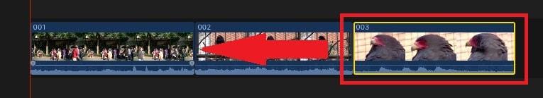 動画ファイルの位置を変更する方法 動画編集ソフトFinal Cut Pro X