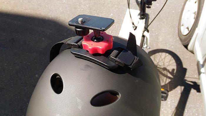RICOH THETA(シータ) SCを自転車に付けて360度撮影