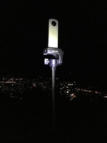 一脚固定で夜景360度動画撮影RICOH THETA(シータ) SC