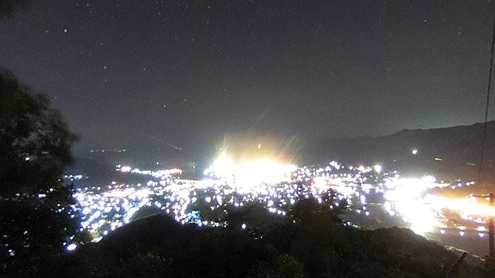 360度夜景撮影 RICOH THETA(シータ) SC