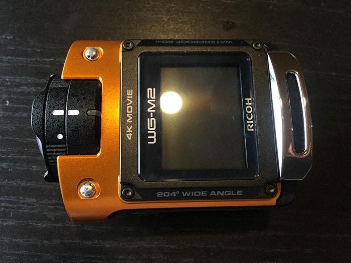 RICOH WG-M2上部 アクションカメラ
