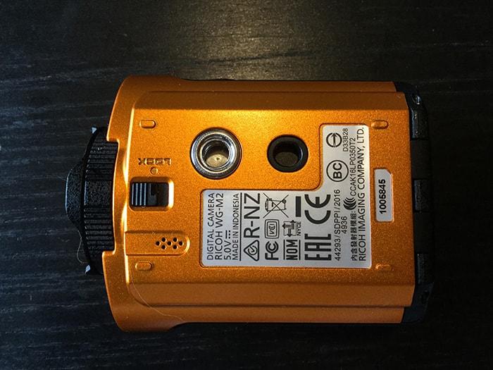RICOH WG-M2底面 アクションカメラ