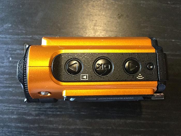 RICOH WG-M2側面 アクションカメラ