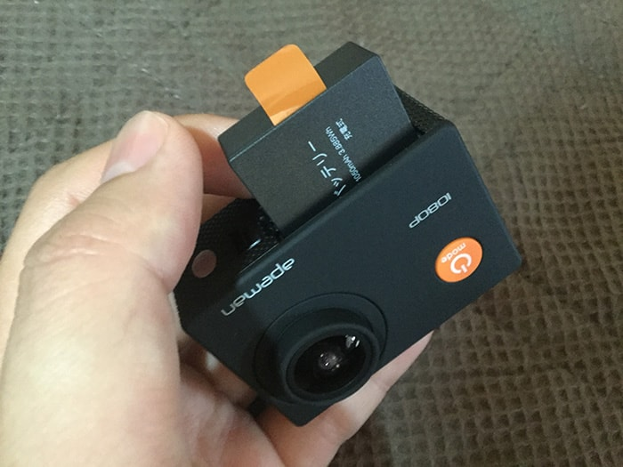 APEMAN A66 FullHDバッテリー挿入アクション・ウェアラブルカメラ