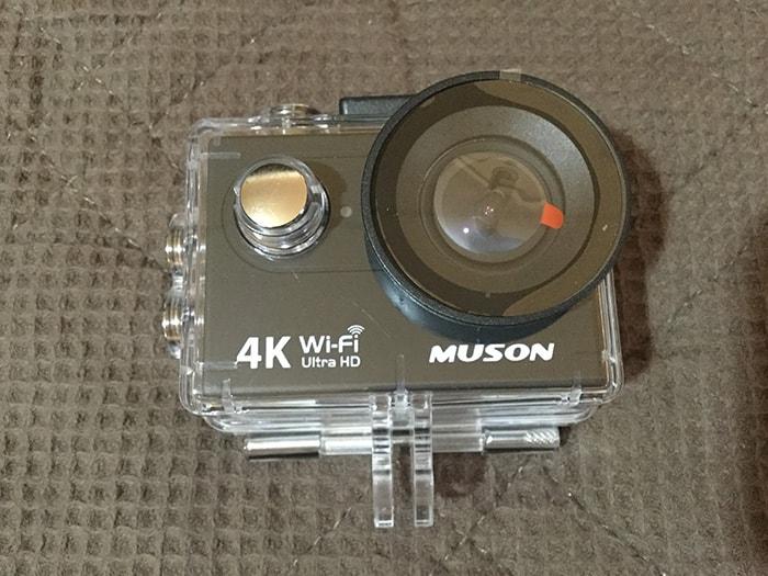 MUSON4K防水ケース アクション・ウェアラブルカメラ