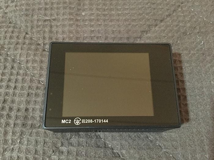 MUSON4K液晶画面 アクション・ウェアラブルカメラ