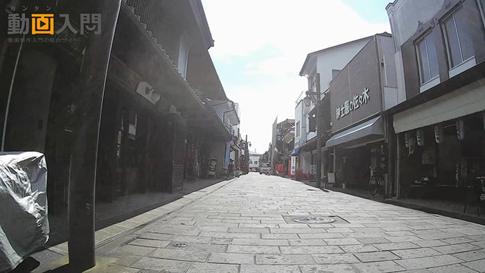 MUSON4K自転車撮影画質テスト アクション・ウェアラブルカメラ