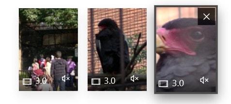 タイムラインの動画をすべてミュート化 動画編集ソフトMicrosoftフォト