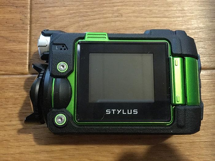 OLYMPUS STYLUS TG-Trackerアクションカメラ