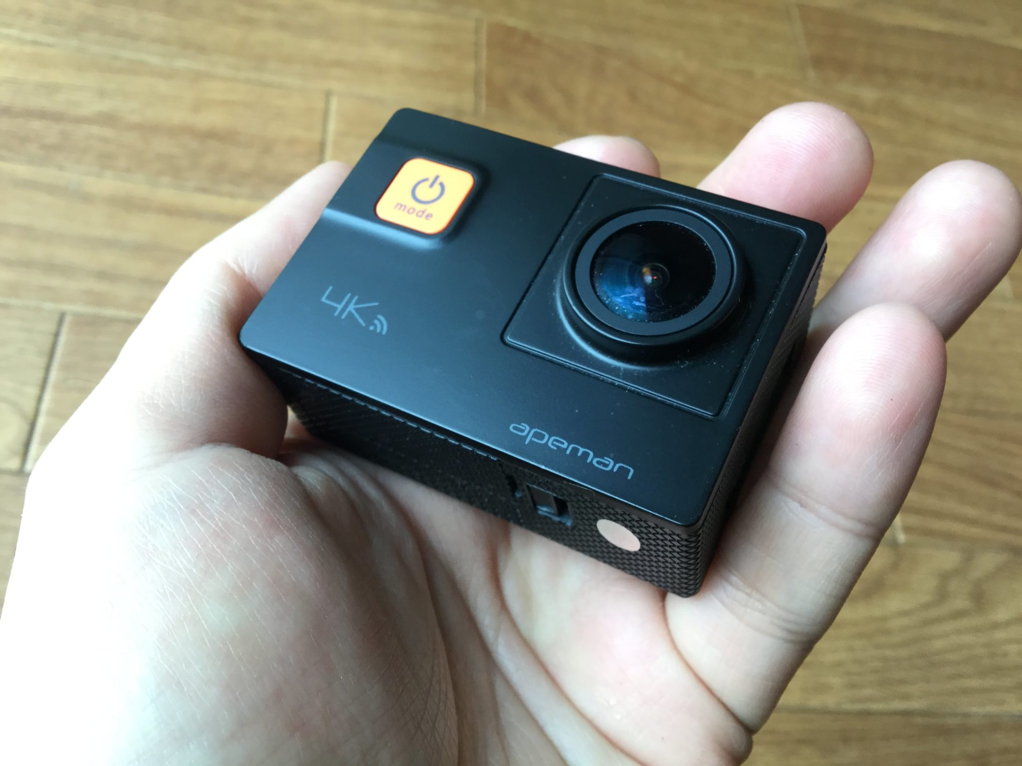 APEMAN 4K アクション・ウェアラブルカメラ