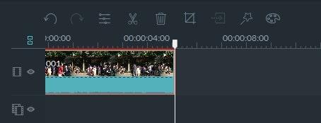 動画編集ソフト Filmora(フィモーラ) 動画ファイルのカット方法