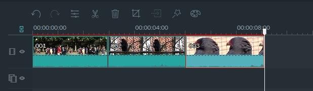 動画編集ソフト Filmora(フィモーラ) 動画ファイルの移動方法