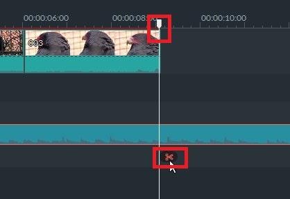 動画編集ソフト Filmora(フィモーラ) 音楽ファイルの分割方法