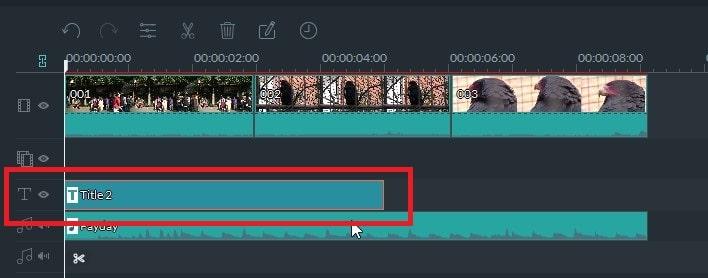 動画編集ソフト Filmora(フィモーラ)のテキストテロップクレジット挿入