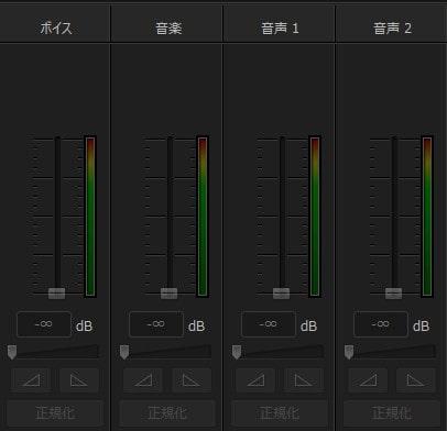 音声ミキシング PowerDirector17の使い方