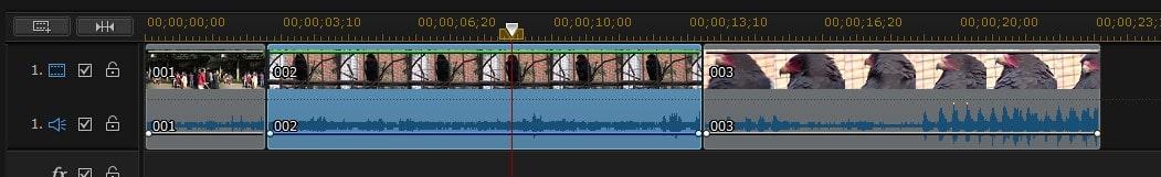 タイムラインへの複数動画の挿入 PowerDirector17の使い方