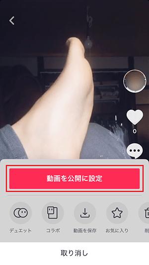 動画再公開 Tik Tok