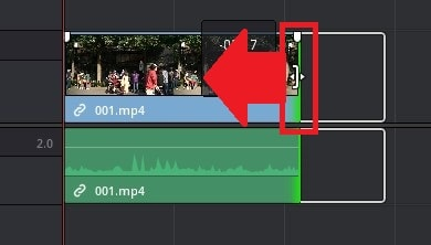動画をカット編集する方法 DaVinci Resolve動画編集ソフト