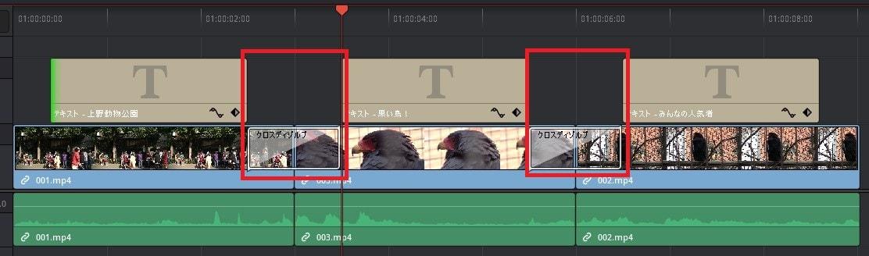 ビデオトランジションとテキスト編集のコツ DaVinci Resolve動画編集ソフト