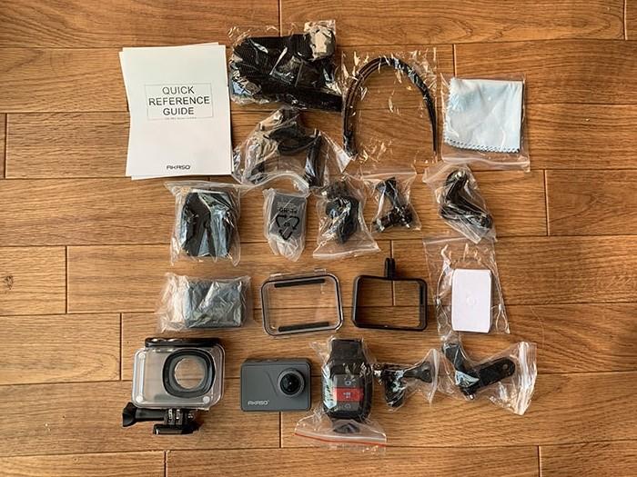 AKASO V50Proの付属品 おすすめの人気アクション・ウェアラブルカメラ