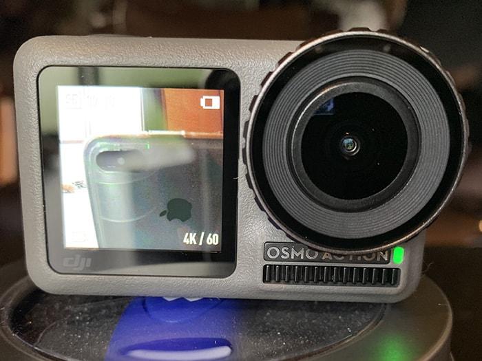 前面液晶 DJI Osmo Action アクション・ウェアラブルカメラ
