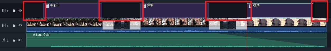 トランジションとテキスト編集 動画編集ソフト Filmora9(フィモーラ)