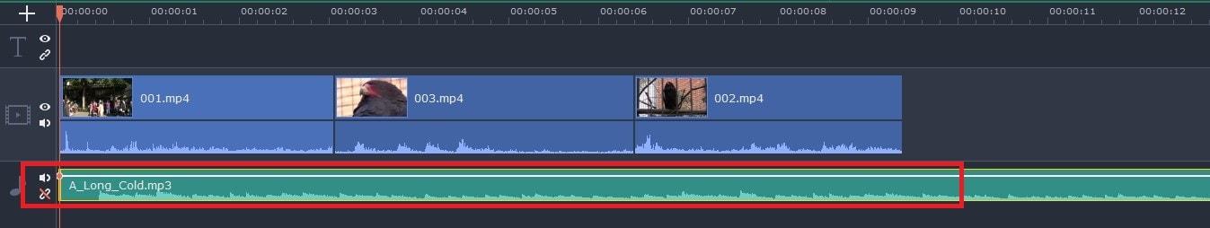BGM音楽ファイルを読み込む方法  動画編集ソフトMovavi Video Editor