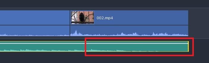 BGM音楽ファイルをフェードインアウトさせる方法  動画編集ソフトMovavi Video Editor