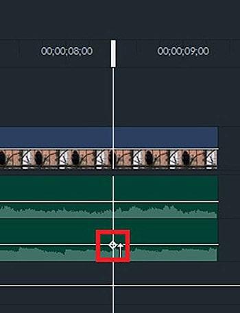 キーフレーム BGM音楽をフェードアウトインさせる方法 動画編集ソフト フィモーラプロ入門