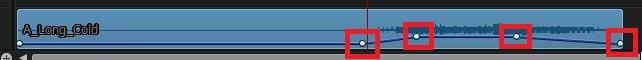 オーディオをフェードアウトさせる方法 PowerDirector18の使い方
