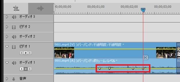 キーフレームの編集方法 Adobe Premiere Elements2020 Adobe Premiere Elements2020