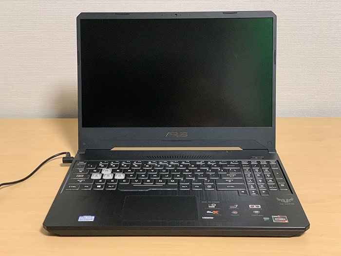 ASUSノートパソコンTUF Gaming FX505DT