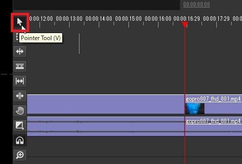動画ファイルを分割カットする方法 Olive動画編集ソフト