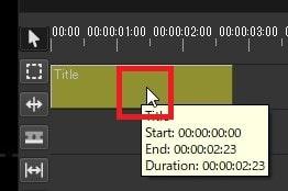 テキストテロップタイトルを挿入する方法 Olive動画編集ソフト