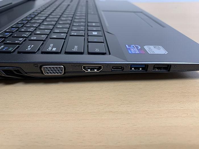 マウスノートパソコンDAIV 5D