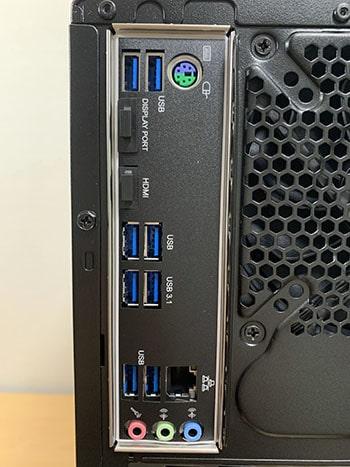 マウスコンピューターノートパソコンDAIV A7