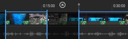 分割カット編集の方法 YouTubeエディタの使い方