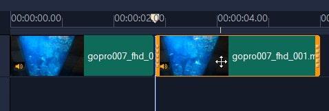 動画を分割カット編集する方法 VideoStudio2020