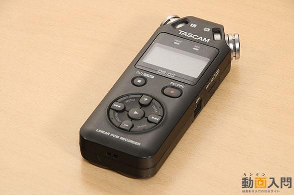 TEAC リニアPCM/ICレコーダー DR-05
