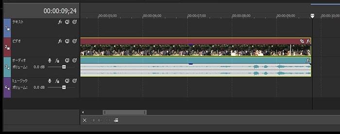 タイムラインを拡大縮小する方法 VEGAS MovieStudio17動画編集ソフト ベガスムービースタジオ入門